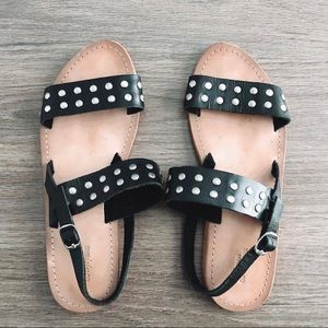 Urban Outfitters Black Sandals
